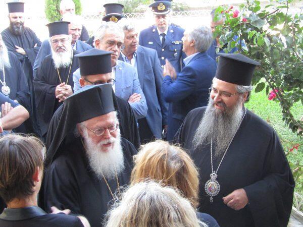 Η επίσκεψη του Αρχιεπισκόπου Αλβανίας στη Μητρόπολη Λευκάδος