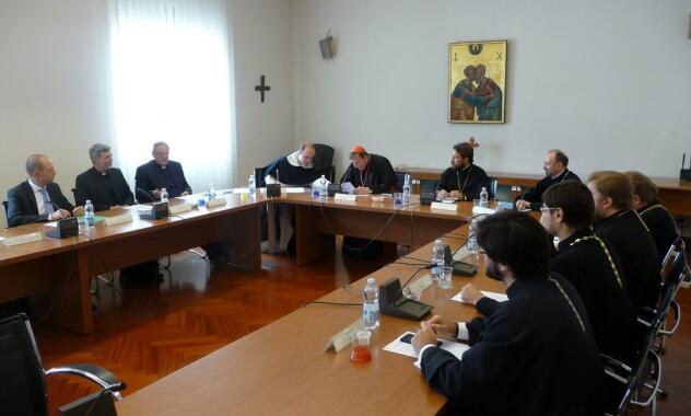 Συνεδρίαση μεταξύ της Ορθοδόξου Εκκλησίας της Ρωσίας και του Ποντιφικού Συμβουλίου