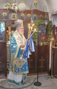 Στο Δρυό της Πάρου η ανάμνηση της Μεταστάσεως του Αγίου Ιωάννου του Θεολόγου