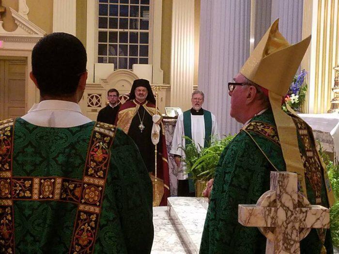 Συμπροσευχή Ορθόδοξων Ρωμαιοκαθολικών στη Μητρόπολη Σικάγο