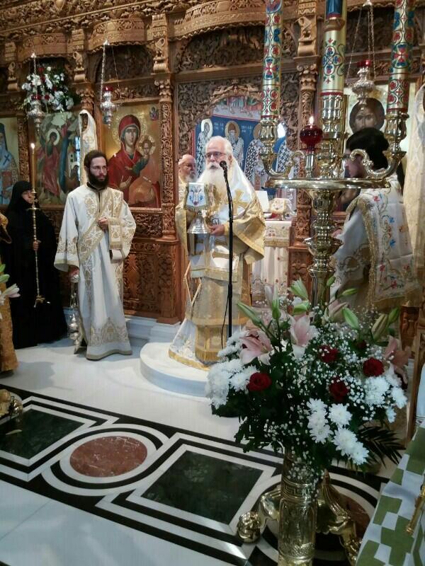 Μητρόπολη Δημητριάδος: Στην Πανήγυρη της Ι. Μονής Παμμεγίστων Ταξιαρχών ο Καισαριανής Δανιήλ