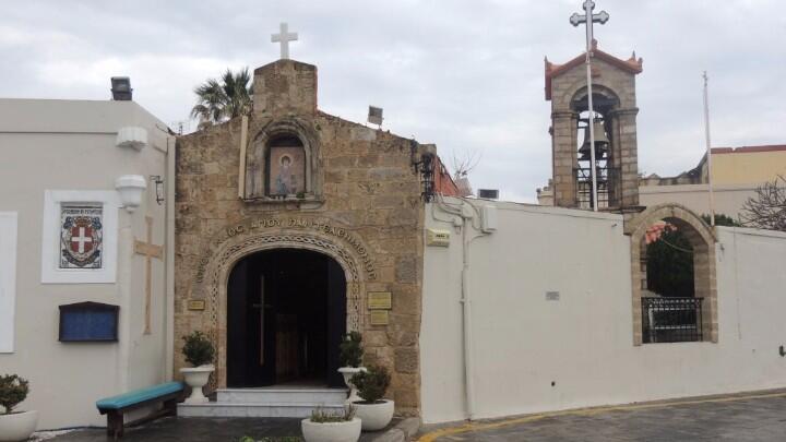 ναός αγίου παντελεήμονος