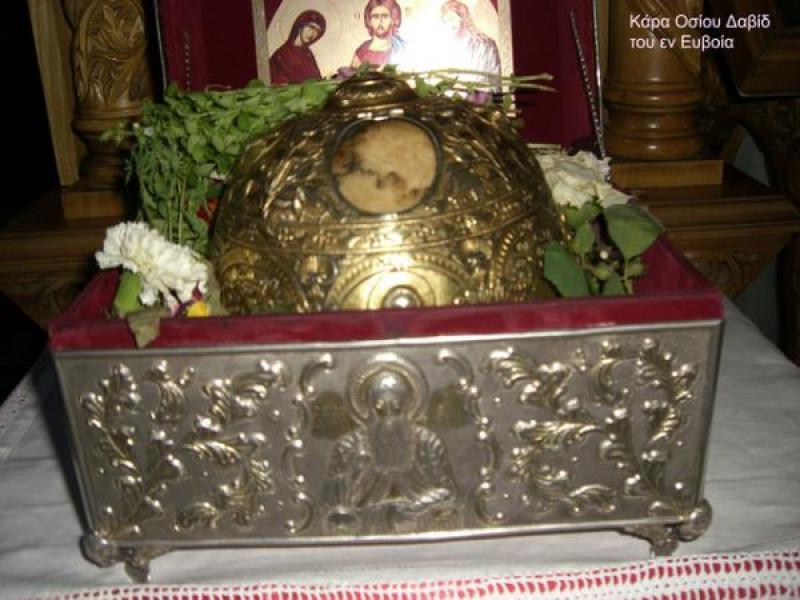 Σάββατο 23 Σεπτεμβρίου: Το Βελεστίνο υποδέχεται την Κάρα του Οσίου Δαυίδ