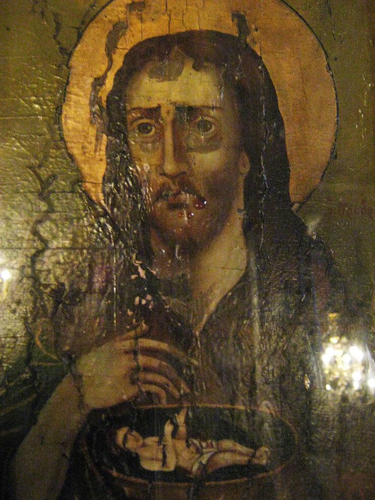 Άγιος Ιωάννης Πρόδρομος Βαπτιστής αίμα
