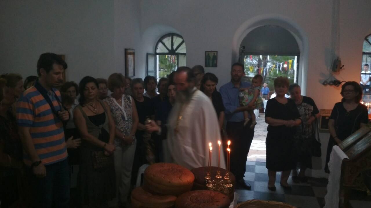 Μητρόπολη Θηβών: Εορτή Αγίας Σοφίας στο Καταλανικό Κάστρο της Λιβαδειάς