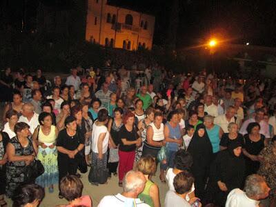 Μητρόπολη Μόρφου: Η Ακολουθία Πανηγυρικού Εσπερινού Αγίου Μάμαντος στο Ξυλιάτο