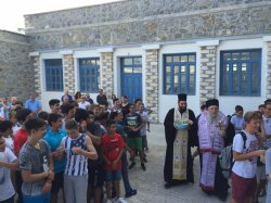 Μητρόπολη Παροναξίας: Αγιασμός σε σχολεία της Νάξου