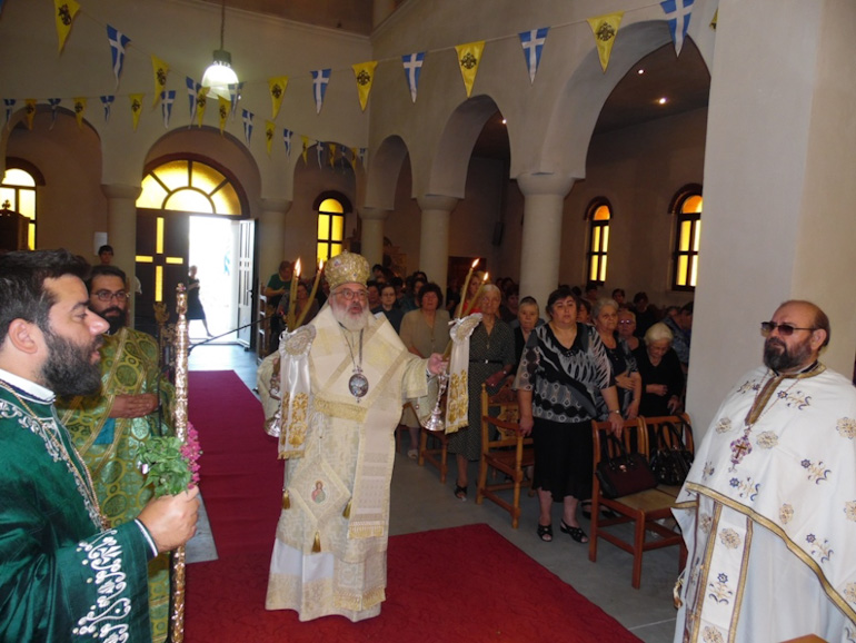 Μητρόπολη Διδυμοτείχου: Εορτή της Υψώσεως του Τιμίου Σταυρού