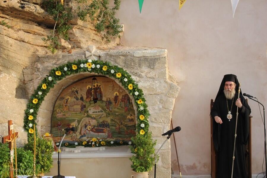 Μητρόπολη Κισάμου: Πλήθος πιστών στην εορτή του Οσίου Κυρ-Ιωάννου του Ξένου