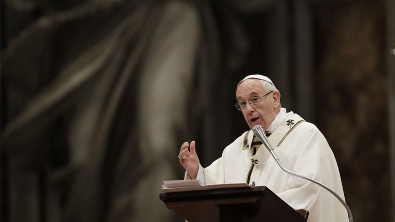 Σφοδρή επίθεση Πάπα Φραγκίσκου σε Τραμπ