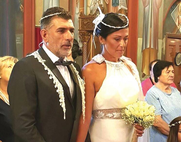 Βυζαντινός Θρησκευτικός γάμος για δύο αξιωματικούς της ΕΛ.ΑΣ