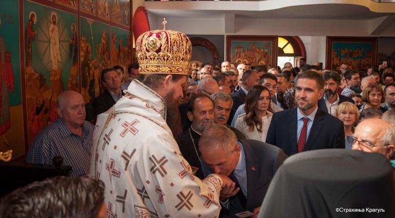 Σερβική Εκκλησία: Ενθρόνιση νέου Επισκόπου