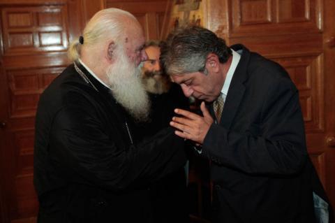 Ο Αρχιεπίσκοπος δέχτηκε τους Πρέσβεις Παλαιστίνης και Καζακστάν