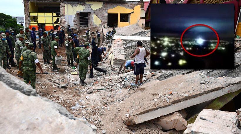 Σεισμός Μεξικό: Δέος από το σημάδι στον ουρανό μετά την καταστροφή
