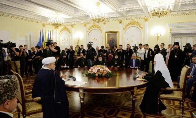 πατριαρχείο μόσχας συνάντηση