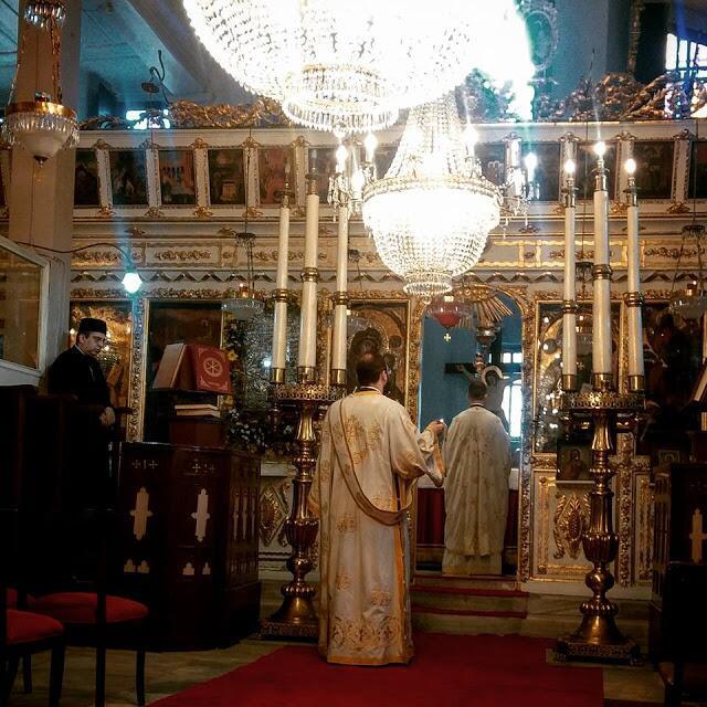 Οικουμενικό Πατριαρχείο: Ο Πατριαρχικός επίτροπος Καλλιουπόλεως χοροστάτησε στην Εορτή της Παναγίας