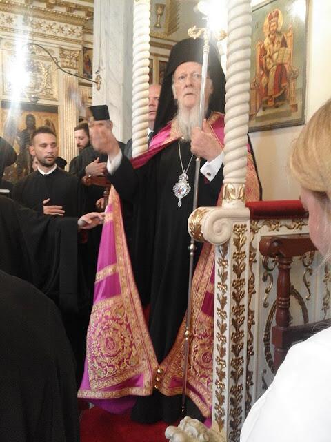 Οικουμενικό Πατριαρχείο: Ο Πατριάρχης στην κοινότητα Μπαλίνου