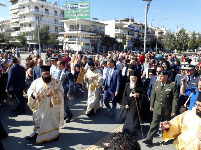 Η Ορεστιάδα υποδέχεται τον Πατριάρχη Βαρθολομαίο