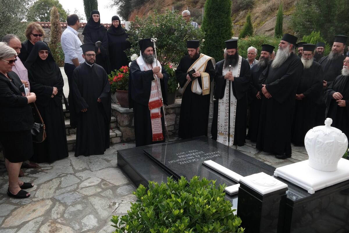 ΄΄Καρφιά΄΄ για διαδοχή στη Μητρόπολη Σταγών στο μνημόσυνο Μακαριστού Σεραφείμ