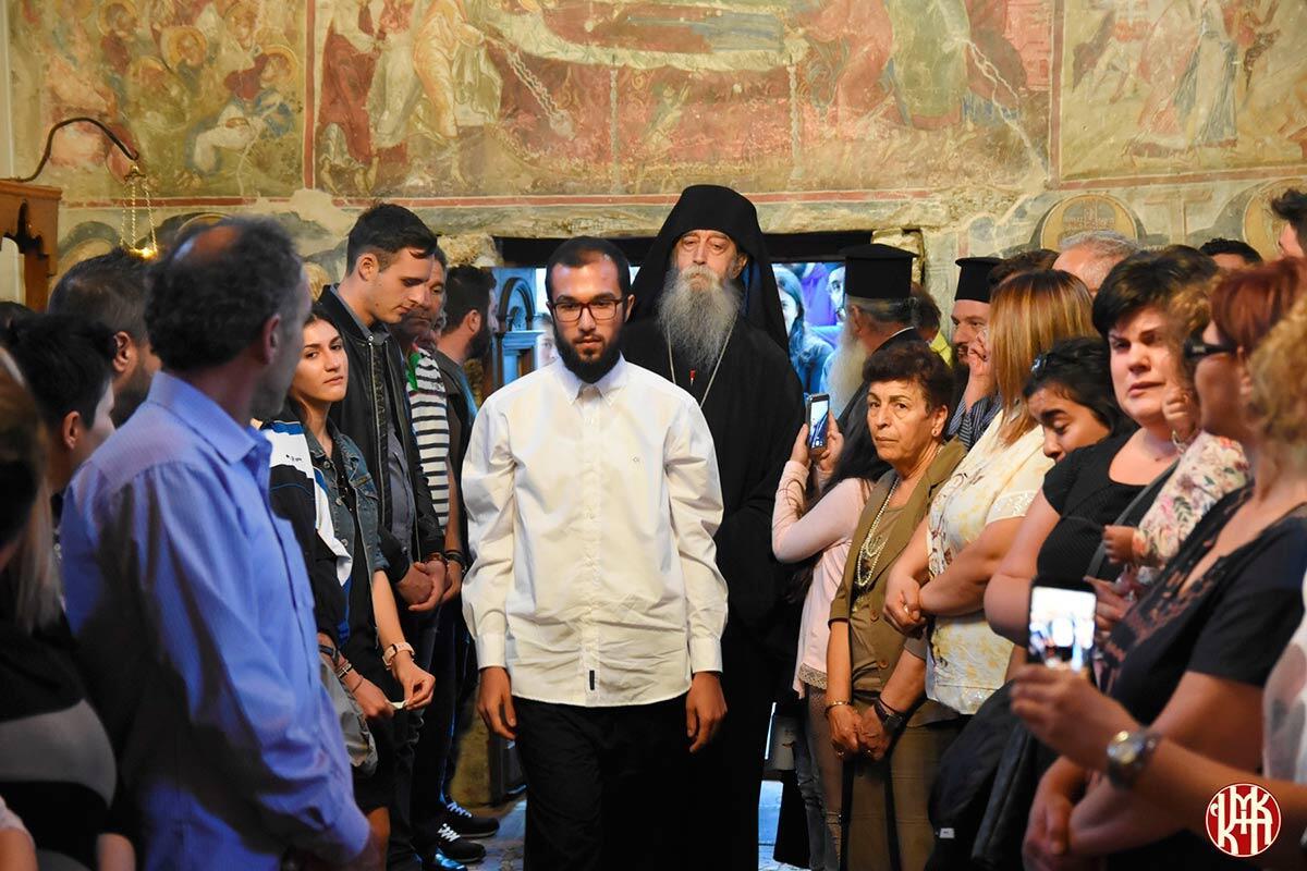 Κουρά Μοναχού Στην Ιερά Μητρόπολη Κίτρους