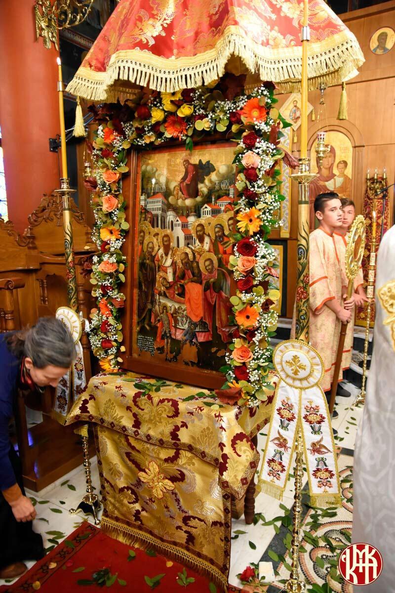 Εορτή Ευαγγελιστή Λουκά Μητρόπολη Κίτρους