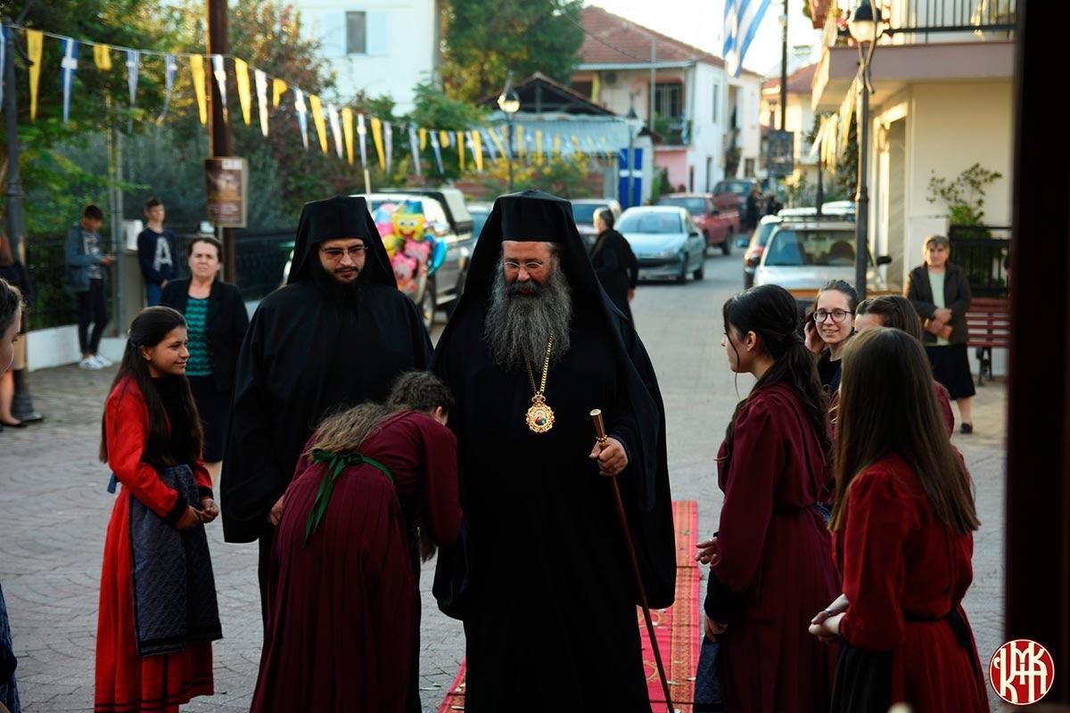Εορτή Ευαγγελιστή Λουκά Μητροπολίτης Κίτρους