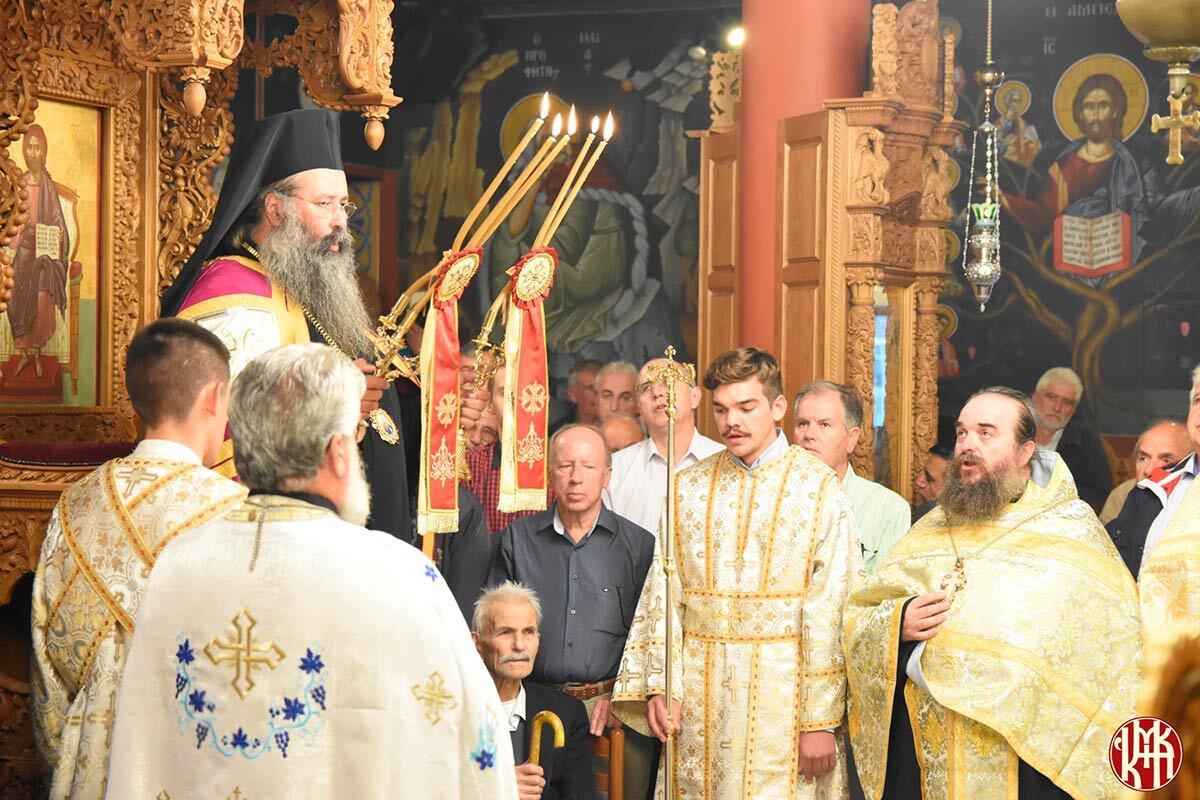 Εορτή Ευαγγελιστή Λουκά Μητροπολίτης Γεώργιος