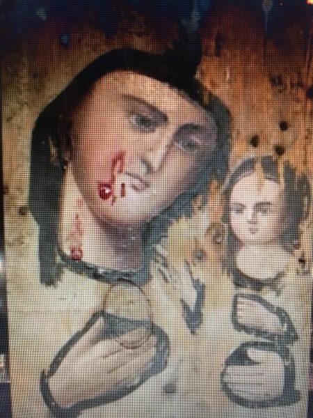 Ξύλινη εικόνα άρχισε να βγάζει Μύρο και μετά να αιμορραγεί στην Ουκρανία
