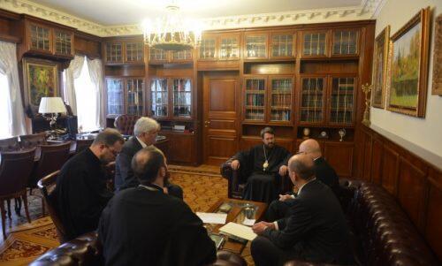 Συνάντηση Μητροπολίτη Ιλαρίωνα με Πρέσβη της Τσεχικής Δημοκρατίας