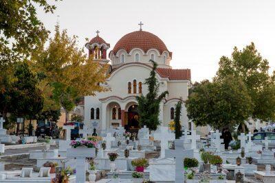 Μητρόπολη Δημητριάδος: Πλήθος κόσμου στα Εγκαίνια του νέου Κοιμητηριακού Ναού Βόλου