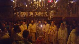 Μητρόπολη Πατρών: Η εορτή του Αγίου Αρτεμίου στην Ιερά Μονή Αγίων Πάντων Τριταίας Πατρών