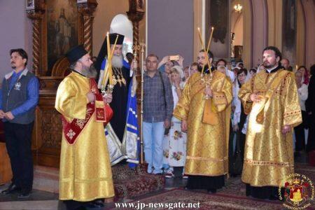 Ο Πατριάρχης Ιεροσολύμων στη Θεία Λειτουργία για τα 170 χρόνια της Ρωσικής Πνευματικής Εκκλησίας