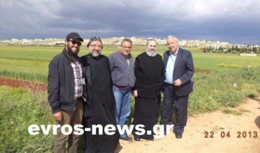 Οι δύο Μητροπολίτες λίγα λεπτά πριν τους απαγάγει το Ισλαμικό Κράτος