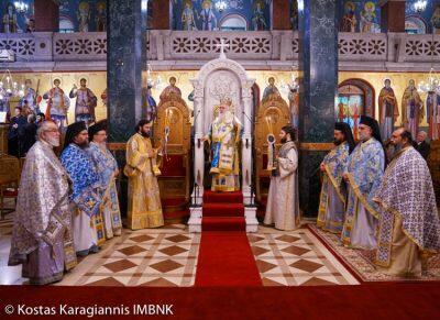 Μητρόπολη Βεροίας: Ο Σεργκέυ Στεπάσιν στην Αρχιερατική Θεία Λειτουργία για τον Μακεδονικό Αγώνα