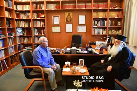 Μητρόπολη Αργολίδος: Αγιασμός στο Ραδιοφωνικό σταθμό της Μητροπόλεως