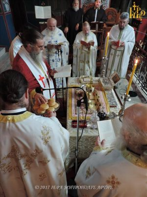 Μητρόπολη Άρτης: Πρωτοχριστιανική Θεία Λειτουργία του Αποστόλου Ιακώβου