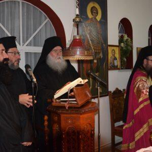 Την Αγία Σκέπη τίμησαν στο Μετόχι της Ι.Μ. Κουτλουμουσίου