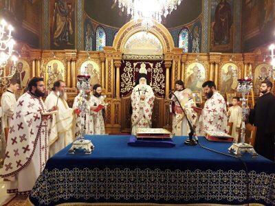 Μητρόπολη Δημητριάδος: Θεία Λειτουργία του Αγίου Ιακώβου