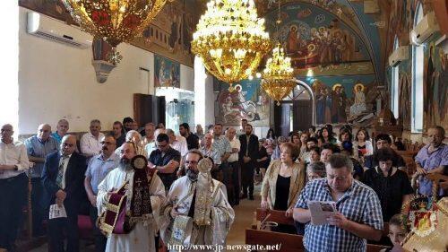 Πατριαρχείο Ιεροσολύμων: Θεία Λειτουργία στην αραβόφωνη κοινότητα του Ρενέ