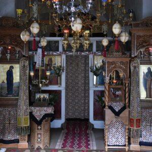 Μητρόπολη Μεγάρων: Μοναχική Κουρά παραμονή της εορτής του Ευαγγελιστού Λουκά