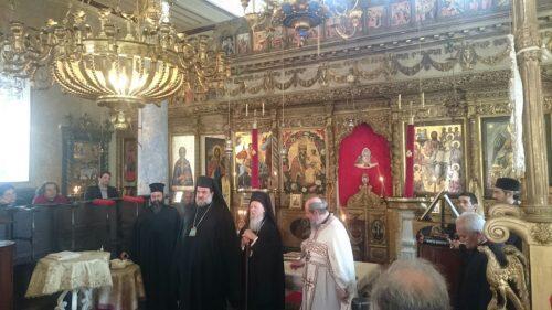 Ο Δωδώνης Χρυσόστομος στον Οικουμενικό Πατριάρχη