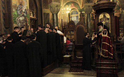 Ο Αρχιεπίσκοπος Ιερώνυμος στον Εσπερινό του Αγίου Διονυσίου Αρεοπαγίτου