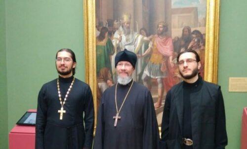 Πίνακας της Ρωσικής Εκκλησιαστικής Αποστολής στην Κίνα εκτίθεται στην Τρετιακόφ