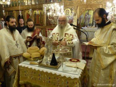 Μητρόπολη Καστοριάς: Η αρχαιοπρεπής Θεία Λειτουργία του Αγίου Ιακώβου του Αδελφοθέου