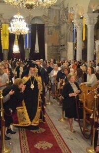 Θεσσαλονίκη: Ακολουθία των Εγκωμίων προς τον Άγιο Δημήτριο