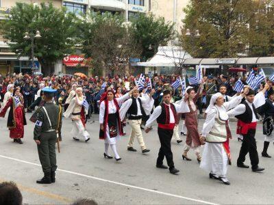 Η Επέτειος της 28ης Οκτωβρίου στη Μητρόπολη Λαρίσης