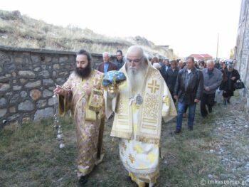 Μητρόπολη Καστοριάς: Λαμπρά Εγκαίνια Ιερού Ναού στα ελληνοαλβανικά σύνορα