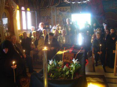 Μεγάλη συγκίνηση στην Εξόδιο Ακολουθία της Γερόντισσας Παταπίας-επικήδειος από το Μητροπολίτη Διονύσιο