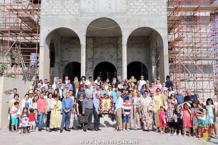 Άξιος-Πλήθος Ιεραρχών και Πρεσβευτών στη Χειροτονία του Πρεσβυτέρου Δημητρίου