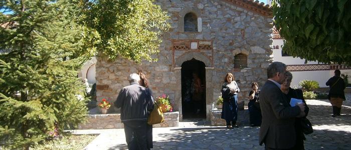 Ιερά αποδημία της Ενορίας Αγ. Βαρβάρας Λαμίας σε Μονές της Ιεράς Μητροπόλεως Γόρτυνος